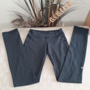 Lululemon  Marled Gray Leggings